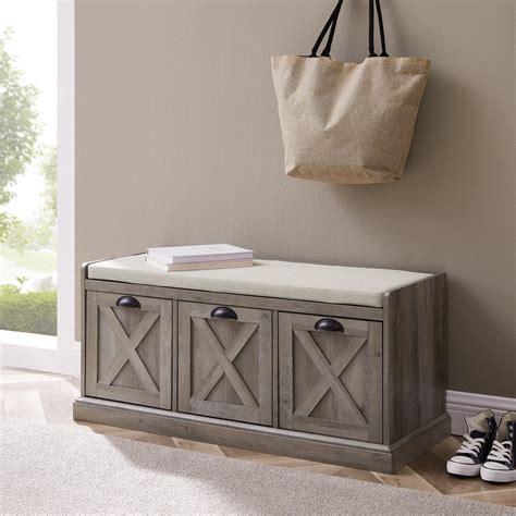 3 Drawer Storage Bench