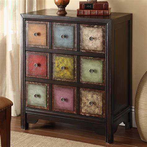 3 Drawers Accent Cabinet