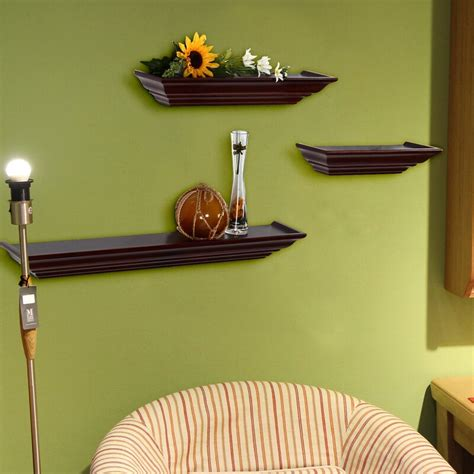 3 Piece Floating Wall Shelf Set