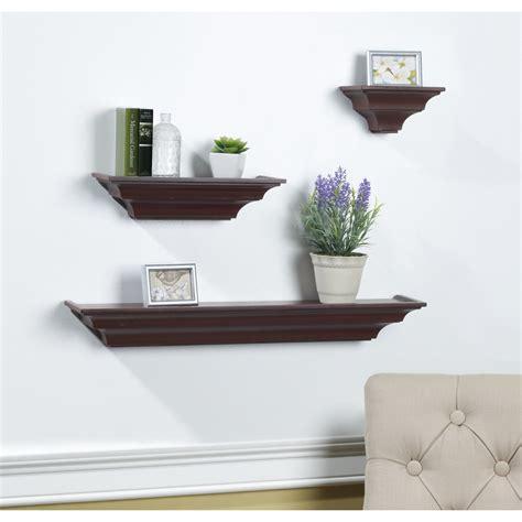 3 Piece Wood Shelves Set