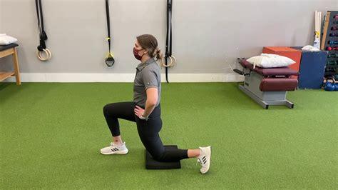 3 way hip flexor stretch videos youtube