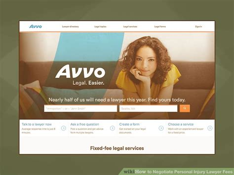 Cost Lawyer Magazine 3 Ways To Negotiate Personal Injury Lawyer Fees Wikihow
