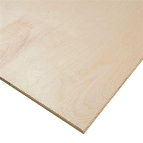 3 4 4x8 Birch Plywood
