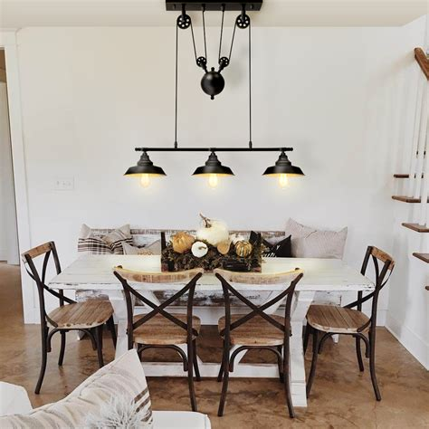 3-Light Kitchen Island Pendant Foyer Dining Room Chandelier.