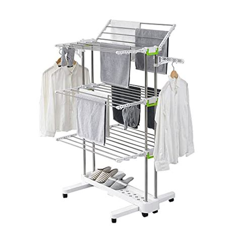 3-Tier Foldable Clothes Drying Rack Stainless Steel Indoor Outdoor  Installation Guide  Review.