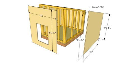 3 Dog Dog House Plans