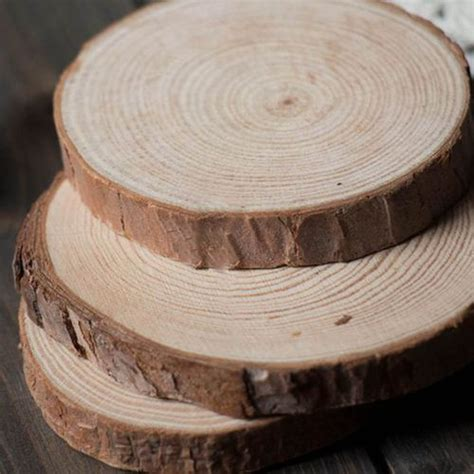 3 Inch Wood Discs