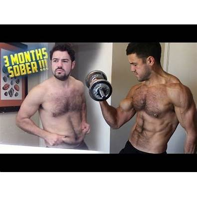 3 Months Sober Home Workout Before After Results