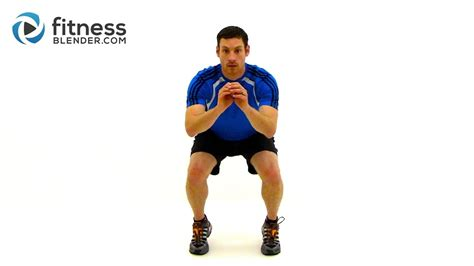 [click]30 Minute Ski Conditioning Workout - Fitness Blender Strength And Cardio Training.