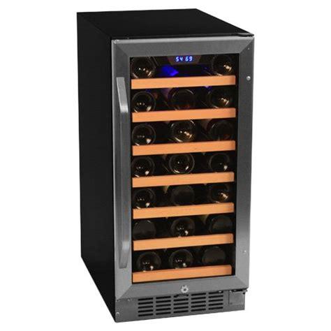 30 Bottle Compressor Single Zone Built-In Wine Cooler