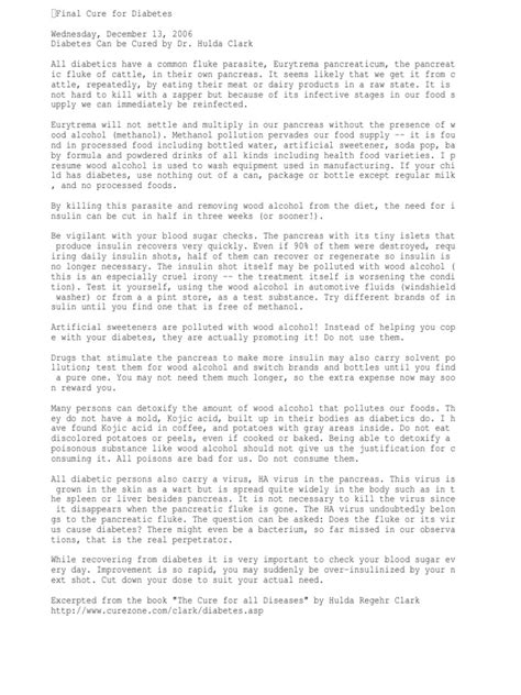 30-Day Diabetes Cure Insulin Resistance (837 Views) - Scribd.