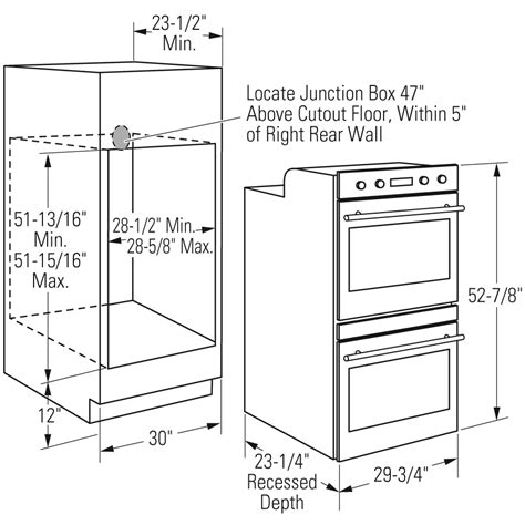 30 Double Wall Oven Cabinet Plans