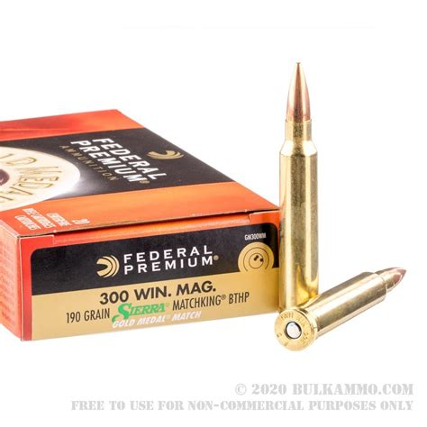 300 Win Mag Ammo - Bulk Rifle Ammunition For Sale.