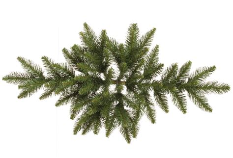 32 Camdon Fir Artificial Christmas Swag - Unlit - Walmart Com