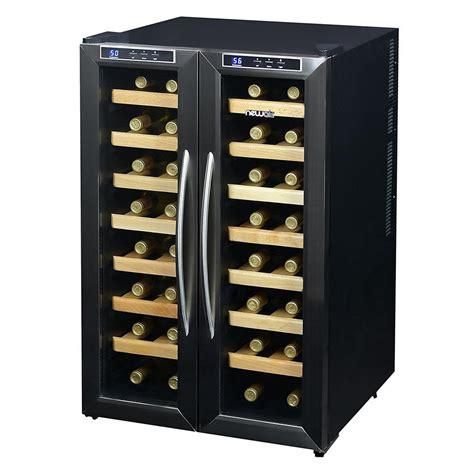 32 Bottle Dual Zone Freestanding Wine Cooler