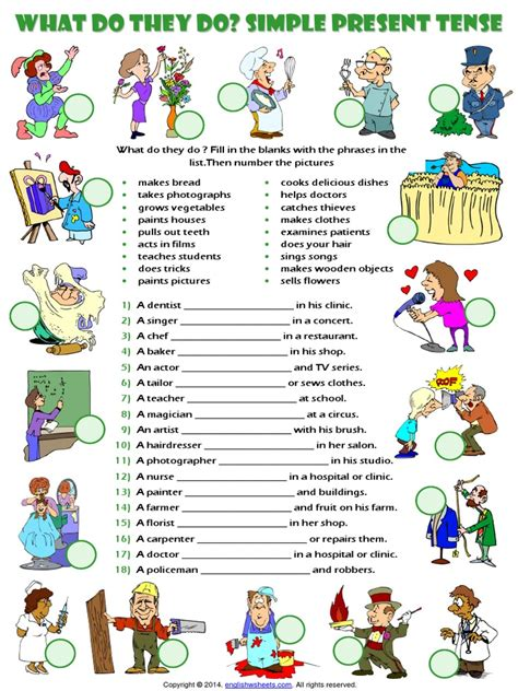 3211 English Exercises Present Perfect With Already Yet Just