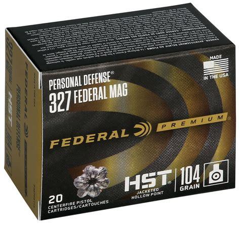 Ammunition 327 Magnum Hst Ammunition.