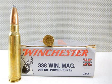 Ammunition 338 Win Mag Ammunition.