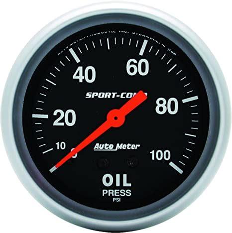 3421 Amazon Auto Meter 3421 Sport Comp Mechanical Oil