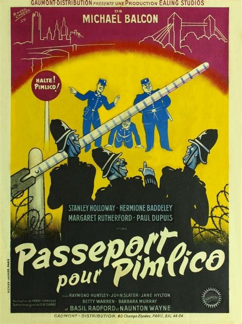 3931 Passeport Pour Pimlico Film 1949 Allocin