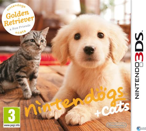 3DS XL Nintendogs Plus Cats