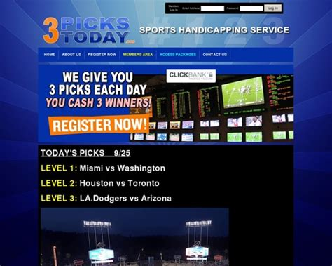 @ 3pickstoday Com - Sports Handicapping Service.
