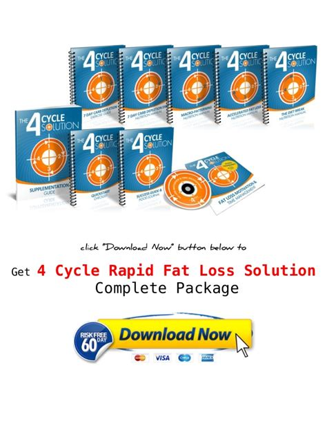 4 Cycle Fat Loss Solution Pdf Free Download Shaun Hadsalls.