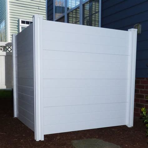 4 Ft H X 4 Ft W Deluxe Premium No Dig Privacy Screen In .