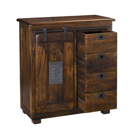 4 Drawer 1 Door Accent Cabinet