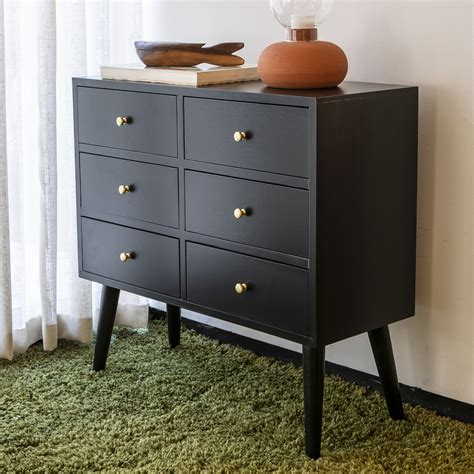 4 Drawer Wooden Accent Chest