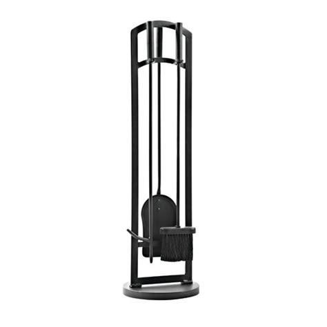 4 Piece Fire-Retardant Steel Fireplace Toolset