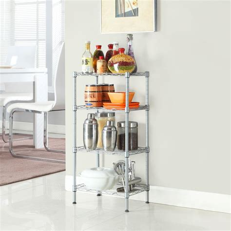 4 Tier Wire Shelf