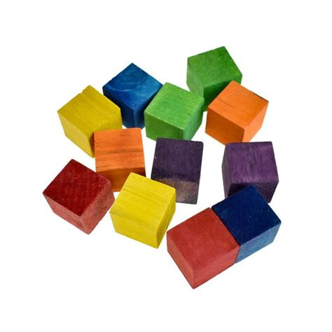4 Inch Wooden Cube