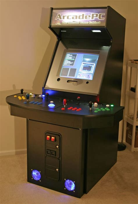 4 Player Mame Arcade Cabinet Plans