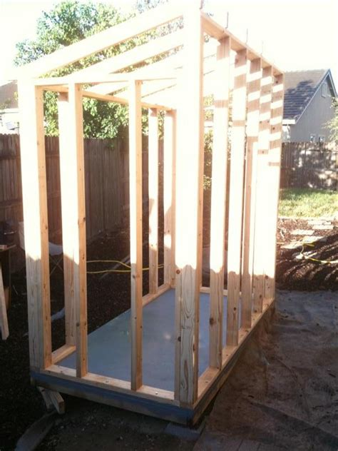 4 X 8 Wood Shed Plans Free