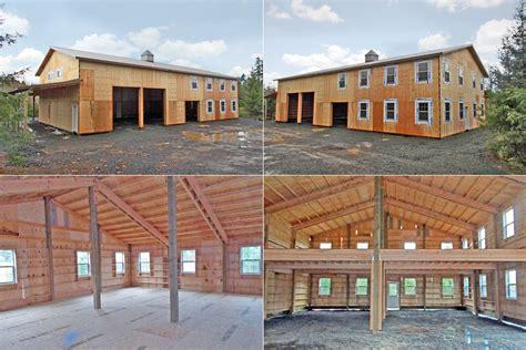 40 X 80 Metal Barn House Plans