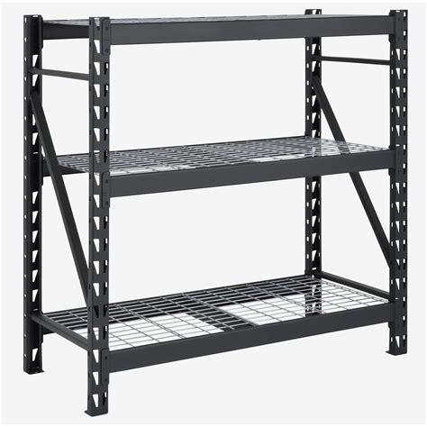 42 H x 48 W 3-Shelves Steel Commercial Decorative Shelving Unit