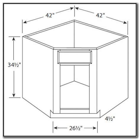 42 Corner Cabinet Plans