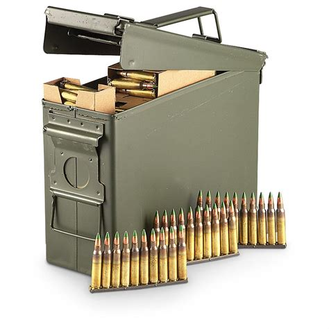 420 Rounds In Ammo Cans Of Bulk Stripper Clip 5 56x45mm .