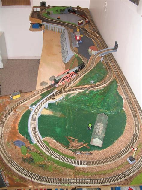 45 Best Ho Track Layout Ideas & Scnery Images Model Trains, Scale.