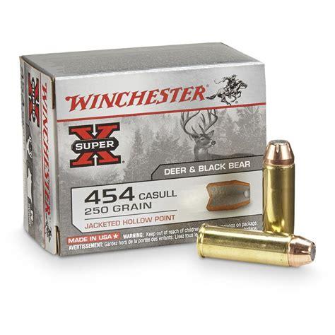 Ammunition 454 Casull Ammunition Review.