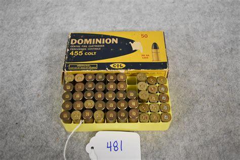 Ammunition 455 Colt Ammunition For Sale.