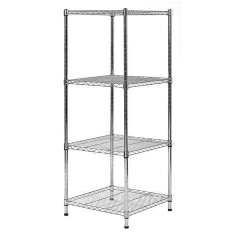 47 H x 18 W Wire Shelf Slim Spacesaver