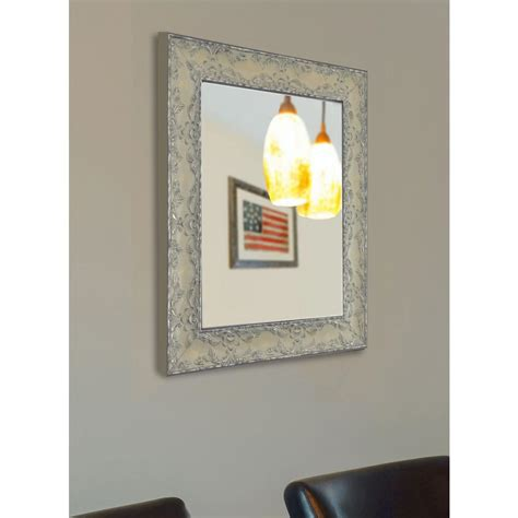 48 In X 36 In Beveled Framed Wall Mirror - The Home Depot.