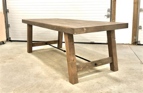 4x4 Leg Coffee Table Plans to Build