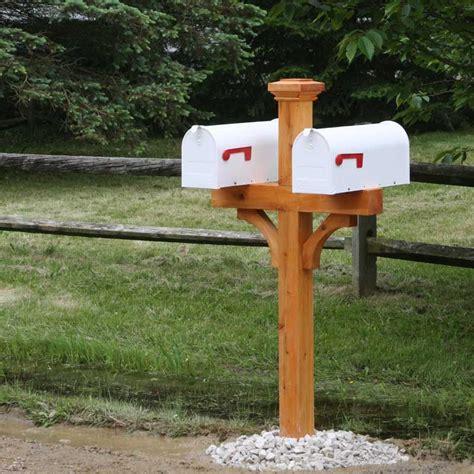 4x4 Mailbox Post Designs