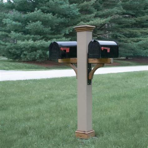 4x4 Mailbox Wooden Post