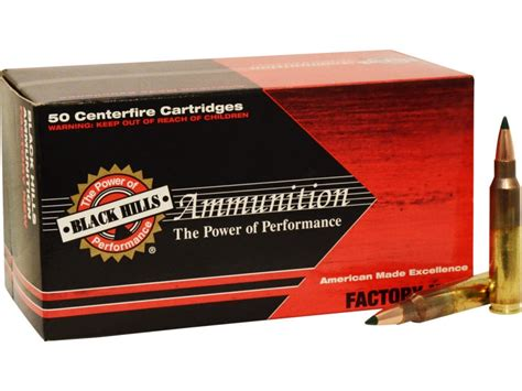 5 56x45mm Nato Ammo Rifle Black Hills 77 Grains  Ammoseek Com.