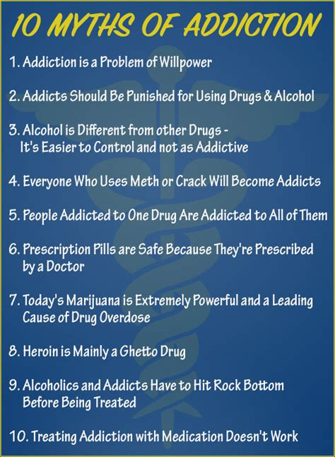 5 Myths About Drug Abuse Addiction And Rehab Treatment.