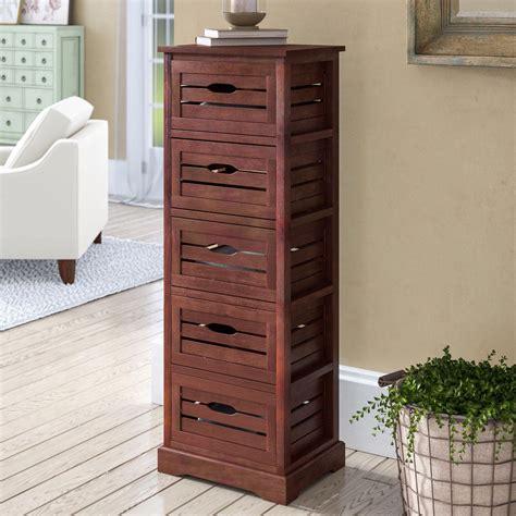 5 Drawer Accent Cabinet